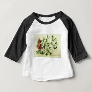 Holly_Christmas_card_ Baby T-Shirt
