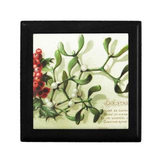 Holly_Christmas_card_ Gift Box