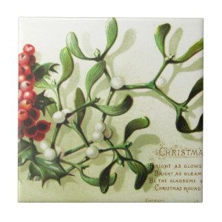 Holly_Christmas_card_ Tile