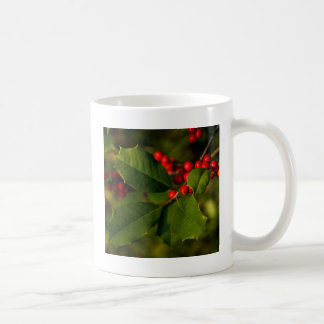 Holly Coffee Mug