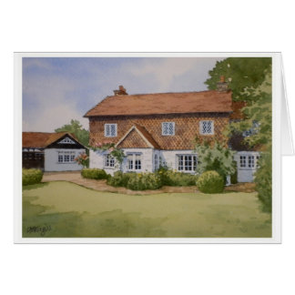 Holly Cottage Card