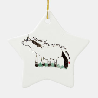 Holly Dolly's Dream Ceramic Ornament