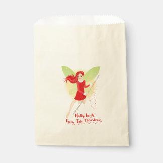 Holly Ecru Favor Bag