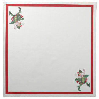 Holly Fairy Napkin