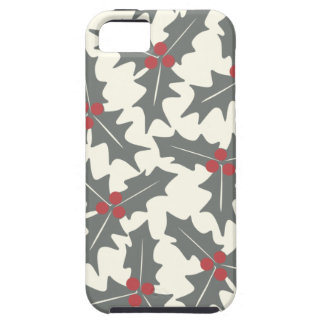 Holly Floral Pattern iPhone 5 Covers