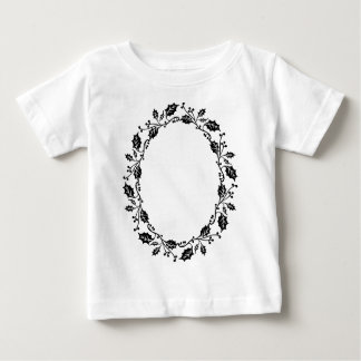 Holly Frame Baby T-Shirt