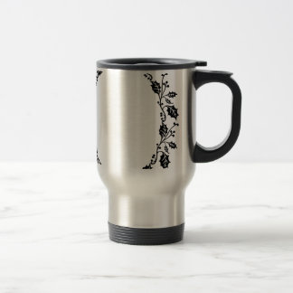 Holly Frame Travel Mug