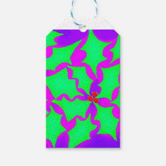 Holly Gift Tag Pack Of Gift Tags