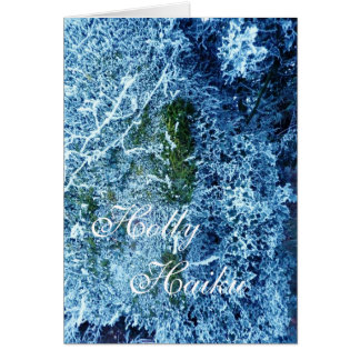 Holly Haiku Card