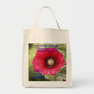 HOLLY HOCK FLOWER BAG