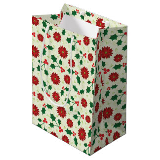 Holly Holiday gift bag