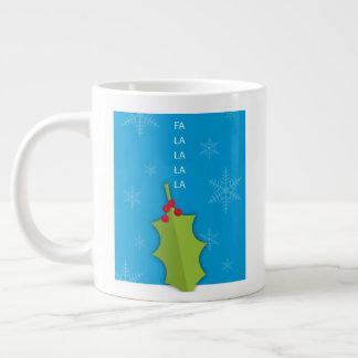 Holly Holiday Jumbo Mug