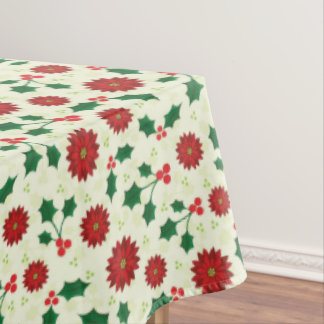 Holly Holiday tablecloth