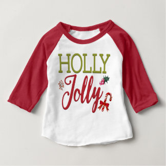 Holly Jolly Christmas Baby's T-Shirt