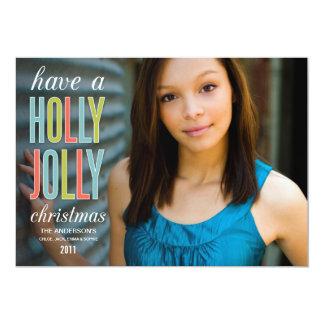 HOLLY JOLLY CHRISTMAS | HOLIDAY GREETING CARD