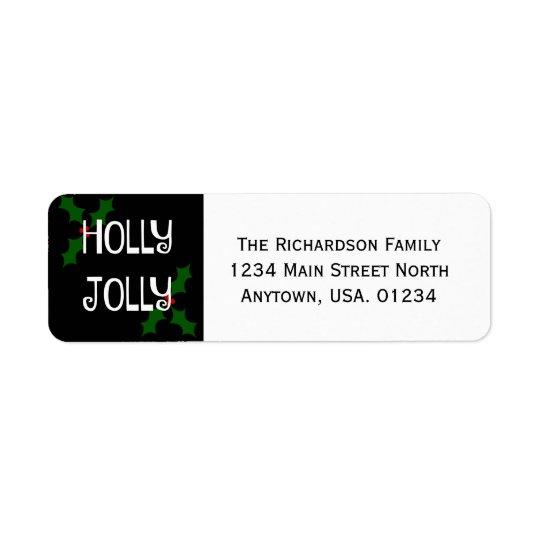 Holly Jolly Christmas Holly