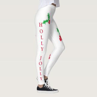 Holly Jolly Christmas leggings
