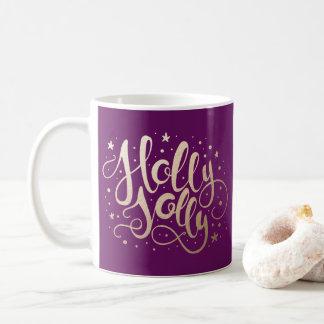 Holly Jolly | Holiday Coffee Mug