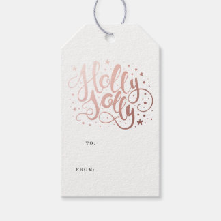 Holly Jolly | Holiday Gift Tags