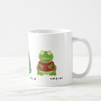 holly jolly in the forest coffee mug