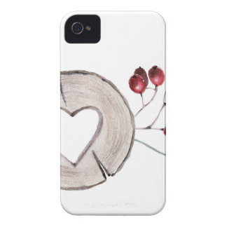 Holly Jolly iPhone 4 Case-Mate Case