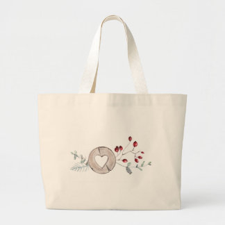 Holly Jolly Large Tote Bag