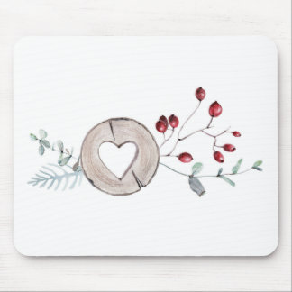 Holly Jolly Mouse Pad