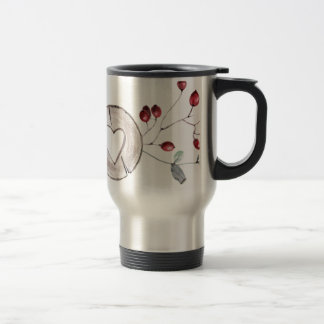 Holly Jolly Travel Mug