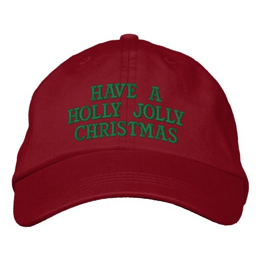 Holly Jolly Women's Embroidered Hat