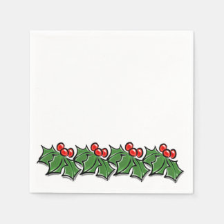 Holly Lane Paper Napkins