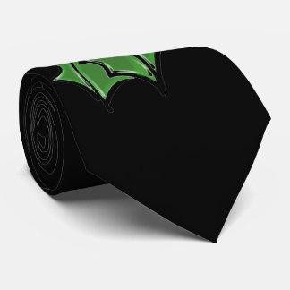 Holly leaves tie