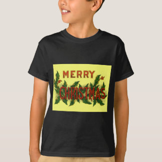 Holly Merry Christmas T-Shirt