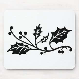 Holly Mouse Pad