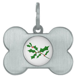 Holly Pet Tag