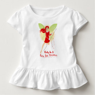 Holly Toddler Ruffle Tee
