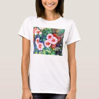 Hollyhocks T Shirt