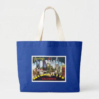 Hollywood California USA Large Tote Bag