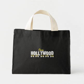 Hollywood Classic Black Background Mini Tote Bag