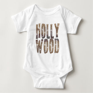 Hollywood Coffee and Stars Baby Bodysuit