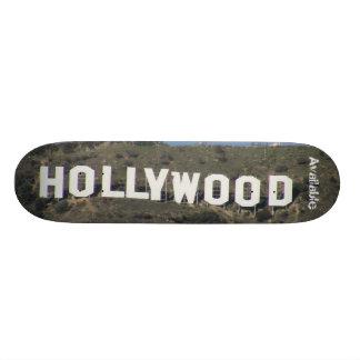 """""""Hollywood disponible était ennuyeux """" Planches À Roulettes Customisées"""