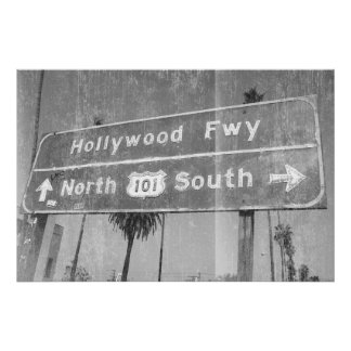 Hollywood Freeway Sign