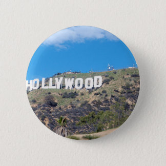 hollywood hills 2 inch round button