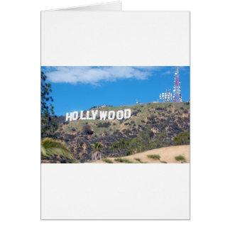 hollywood hills card