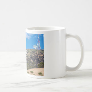 hollywood hills coffee mug