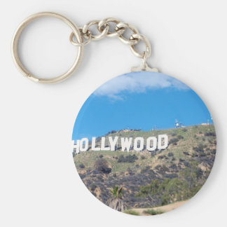 hollywood hills keychain