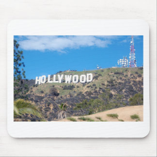 hollywood hills mouse pad