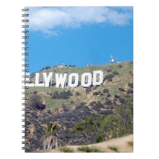 hollywood hills notebook