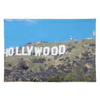 hollywood hills placemat