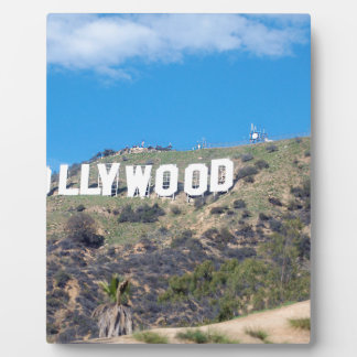 hollywood hills plaque
