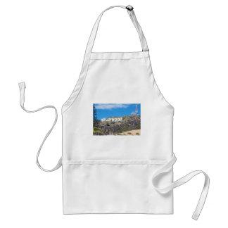 hollywood hills standard apron
